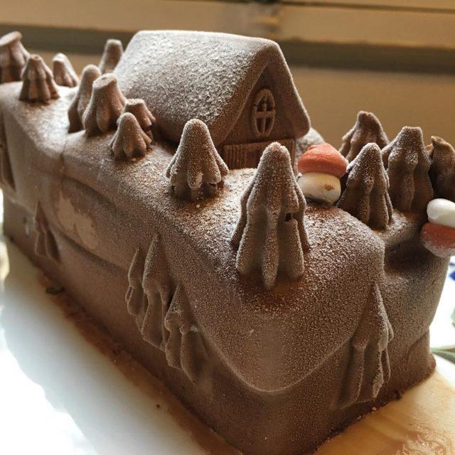 La bche chocolat  vanille picardsurgeles tellement bonne quon lahellip