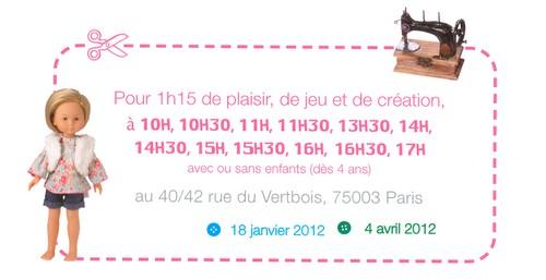 La petite maison de couture corolle expressions d 39 enfants for Akay maison de couture
