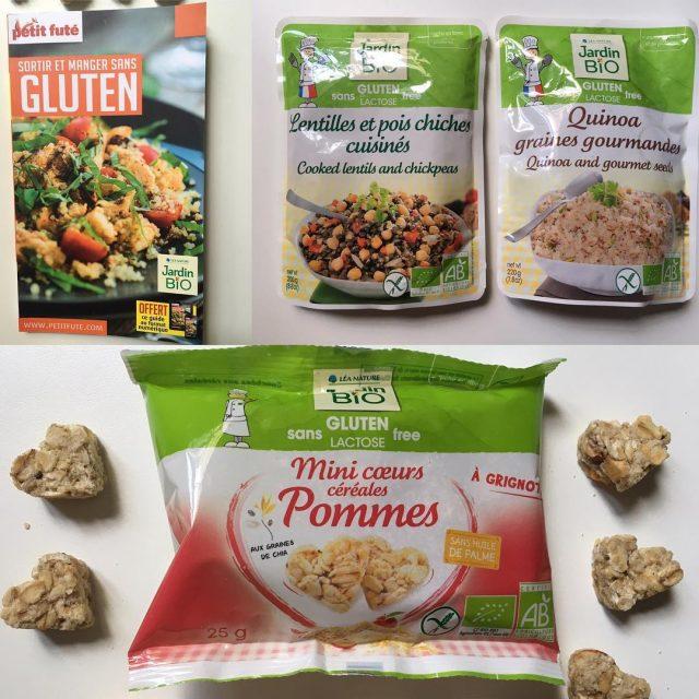 Coup de cur pour la gamme glutenfree et sanslactose JardinBiohellip