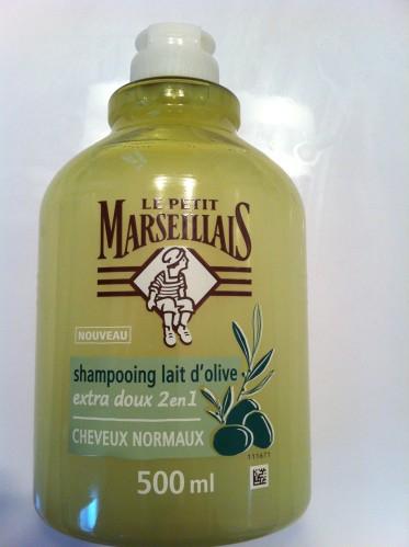 Shampooing lait olive Le Petit Marseillais
