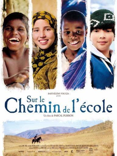 Affiche-du-film-SUR-LE-CHEMIN-DE-LECOLE_Expressionsdenfants