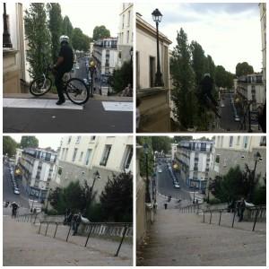 Le vélo fou du Trocadéro