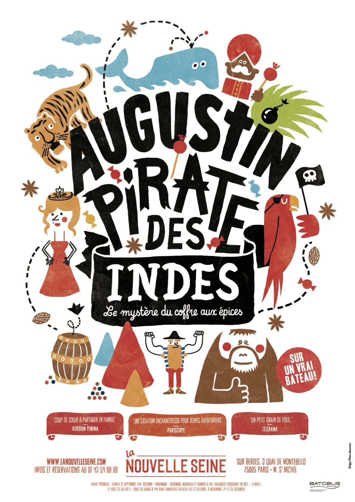 Augustin pirate des Indes