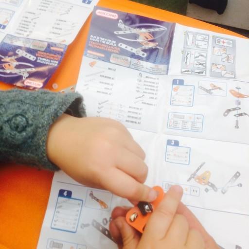 Atelier meccano meccanoid  la FNAC des Ternes