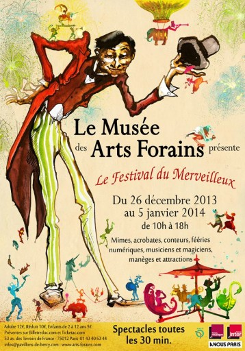 Vacances de Noël Musee des Arts Forains_Expressionsdenfants