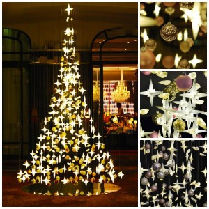 The Smoon Christmas Tree au Royal Monceau