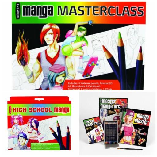 Set Master Class Manga_Derwent_Expressionsdenfants