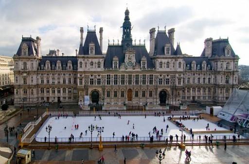 Patinoire Hotel de Ville Paris_Expressionsdenfants