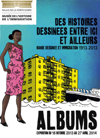 exposition Albums, bande dessinée et immigration_Expressionsdenfants