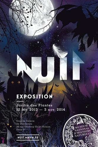 Affiche_Nuit à la Grande Galerie de l'Evolution_Expressionsdenfants_2