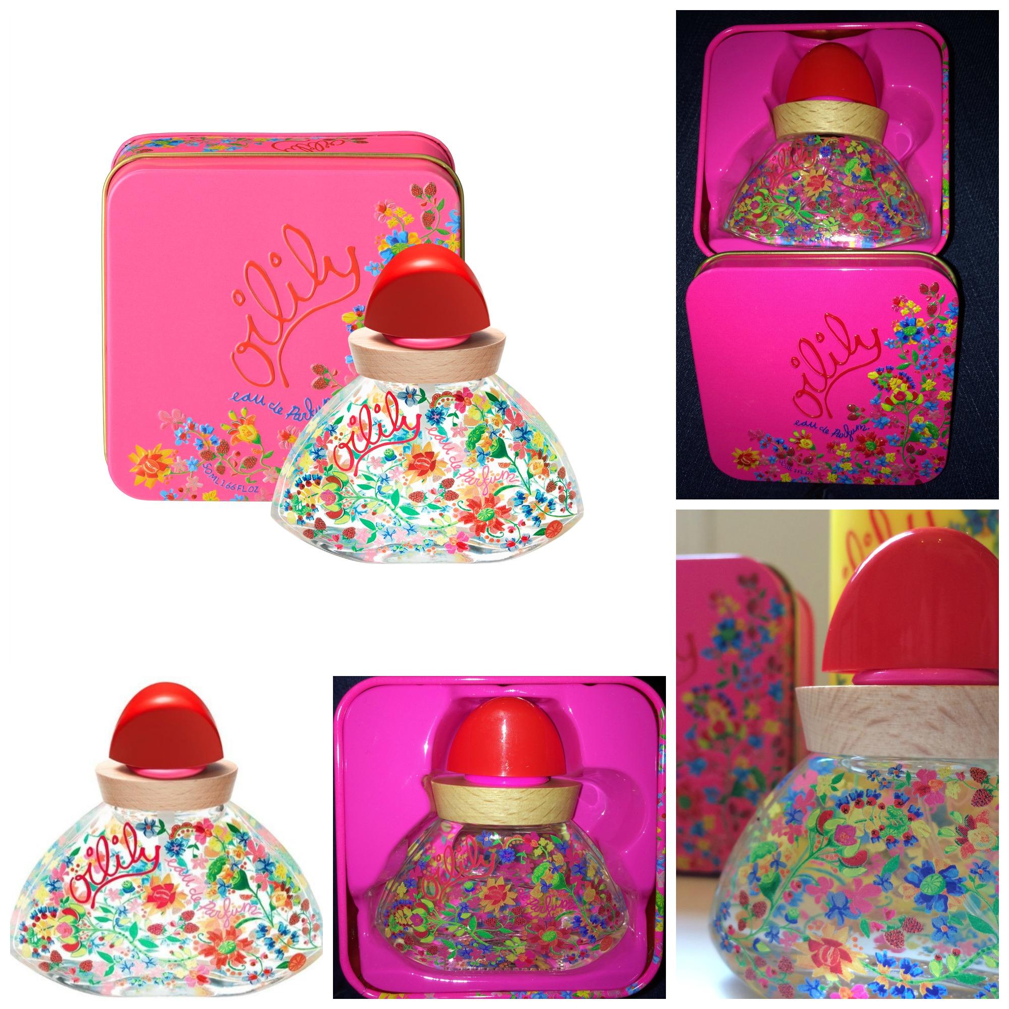 oilily l 39 eau de parfum printani re des filles expressions d 39 enfants. Black Bedroom Furniture Sets. Home Design Ideas