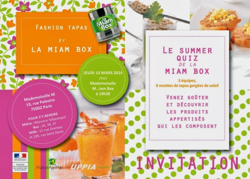 INVIT MIAM BOX BLOGGEURS