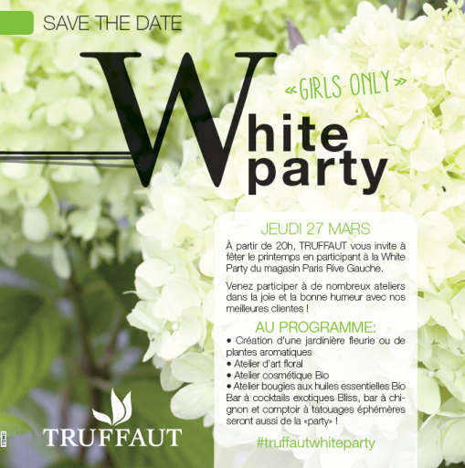 White Party Truffaut Expressionsdenfants
