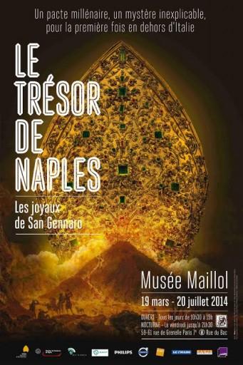 Affiche Le Trésor de Naples_Musée Maillol_Expressionsdenfants