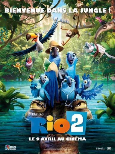 Rio 2 - affiche - Expressionsdenfants