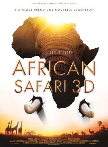 Affiche_African Safari 3D_Expressionsdenfants