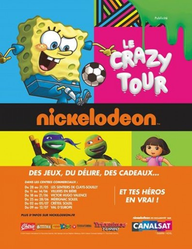 Crazy Tour Nickelodeon_Expressionsdenfants