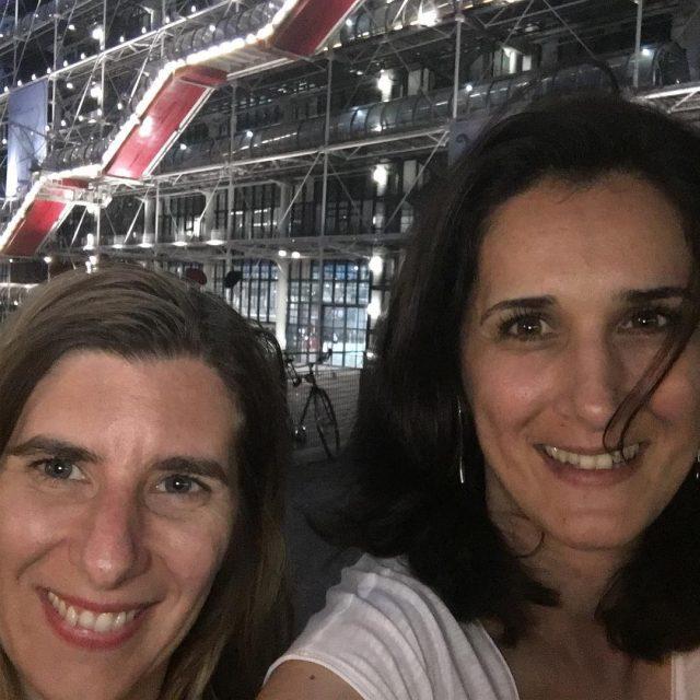 virginiedouxmoments le Centre Pompidou et moi