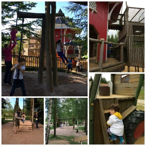 Aire de jeux extérieure _Center Parcs_Expressionsdenfants