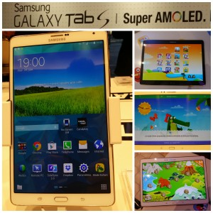 Galaxy Tab S - Samsung - Une - ExpressionsdEnfants
