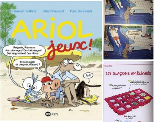 Ariol Jeux_BD Kids_livre_Expressionsdenfants