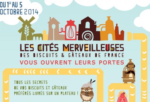 Biscuits & Gâteaux de France_Les cités merveilleuses_Expressionsdenfants