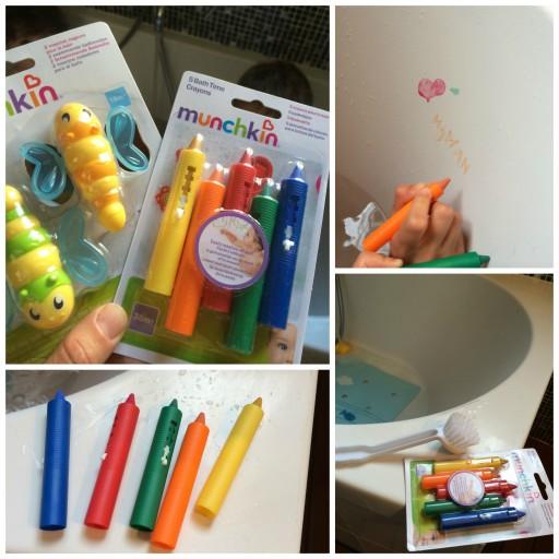 Crayons de bain Munchkin_Expressionsdenfants