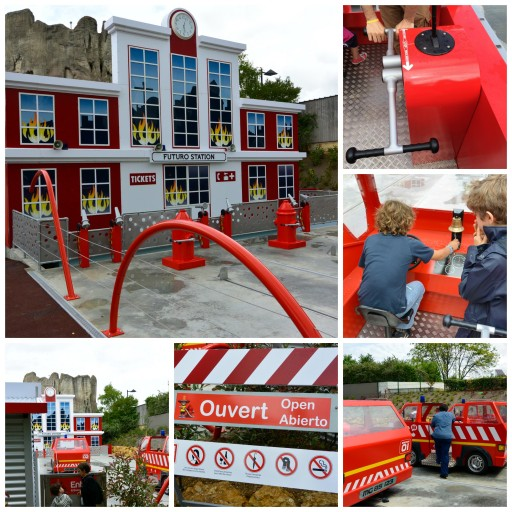 Futuroscope - Attractions 3 - Les pompiers - ExpressionsdEnfants