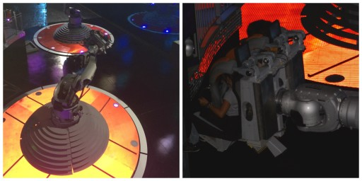 Futuroscope - Attractions 4 - Danse avec les robots - - ExpressionsdEnfants