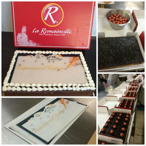 La Romainville_Gâteau personnalisé_Expressionsdenfants