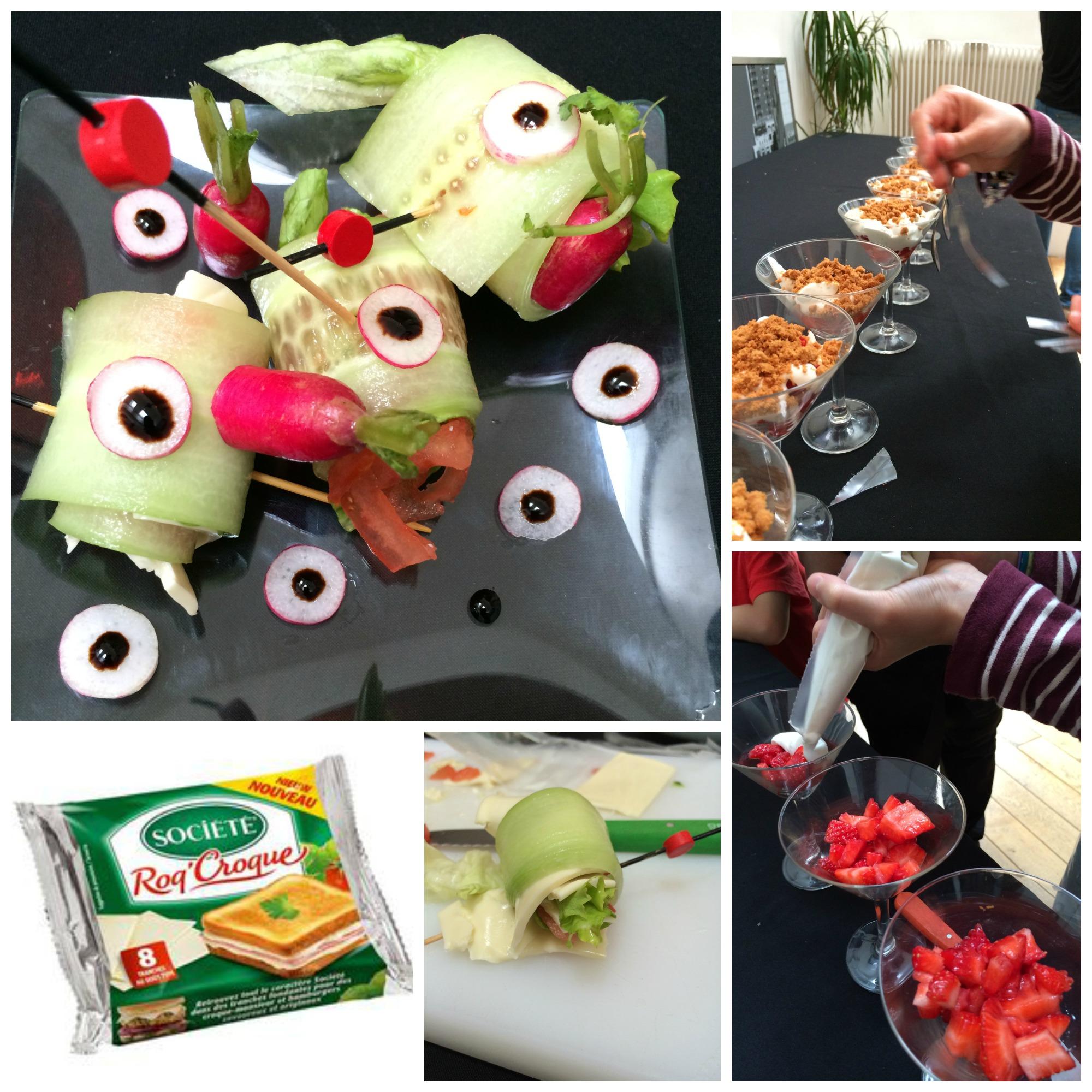 Un atelier de cuisine avec roquefort soci t for Atelier de cuisine lyon