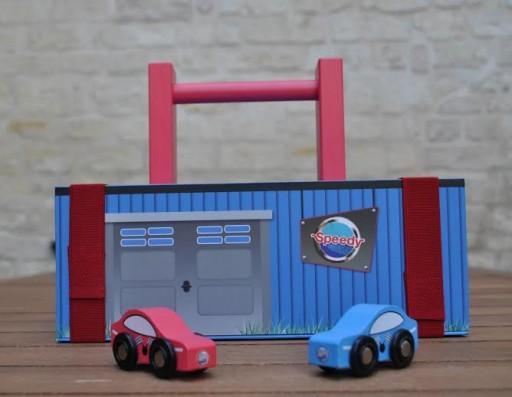 Speedy_Garage en bois_Enfant_Expressionsdenfants