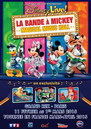Disney Live- La Bande à Mickey_Affiche_Expressionsdenfants
