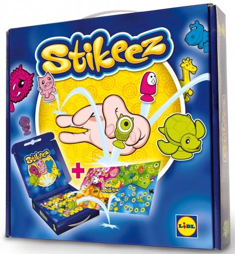 La boîte de jeu Stikeez - ExpressionsdEnfants