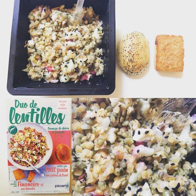 Djeuner tardif mais bon et quilibr avec cette lunchbox Duohellip