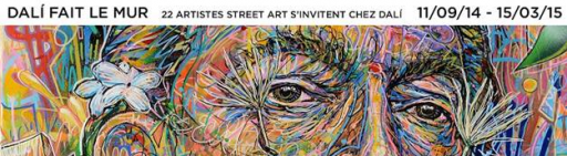 Paris Hiver 2015 - Dali fait le mur  - Paris Automne 2014 - Expressionsdenfanst