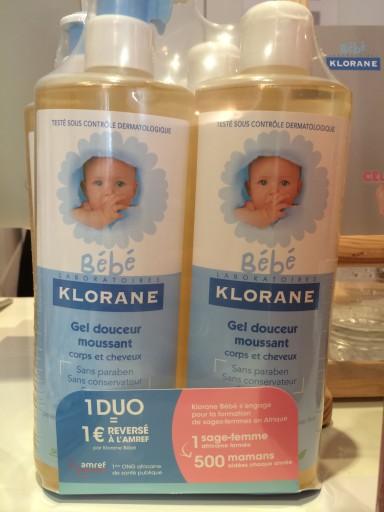 Klorane Bébé_Duo Gel douceur moussant_Expressionsdenfants