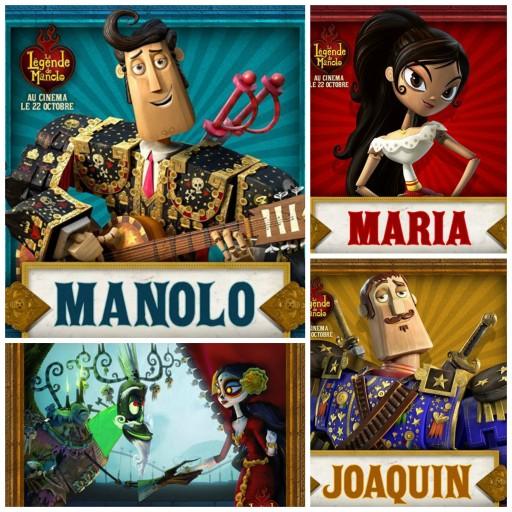La légende de Manolo_Personnages_Expressionsdenfants