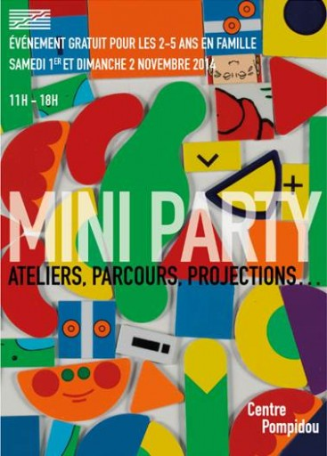 Mini Party_Centre Pompidou_Toussaint_Expressionsdenfants