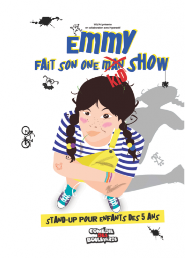 Emmy fait son One Kid Show_Expressionsdenfants