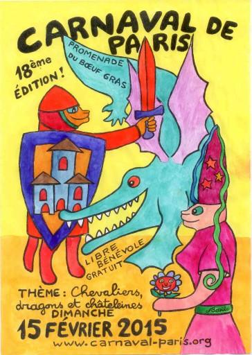 Paris Hiver 2015 - Carnaval de Paris - Expressions d'Enfants