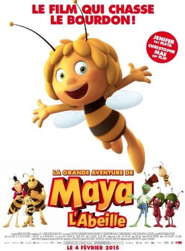 La grande Aventure de Maya l'abeille_Affiche_Expressionsdenfants