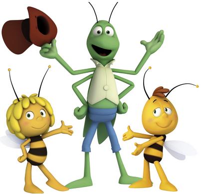 La grande Aventure de Maya l'abeille_Personnages_Expressionsdenfants