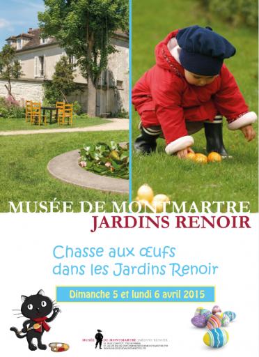 Chasse aux œufs.Musée de Montmartre_Expressionsdenfants