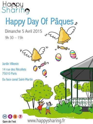 Happy Sharing Day of Pâques_Expressionsdenfants