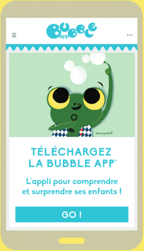Bubble App_Application_BubbleMag_Expressionsdenfants