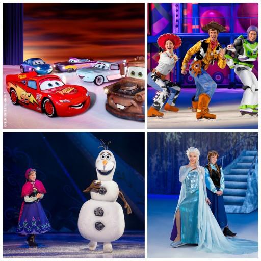 Disney sur Glace_Personnages_Les mondes féériques_Expressionsdenfants