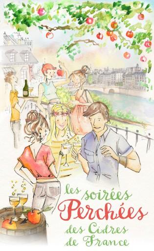 Soirées Perchées_Cidres de France_juin_Expressionsdenfants