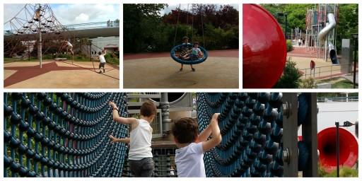 Futuroscope 2015 - Activités de pleine Air - Expressions d'Enfants