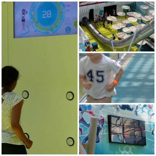 Futuroscope 2015 -  Arena fun Xperiences - Activités Sportives - Expressions d'Enfants